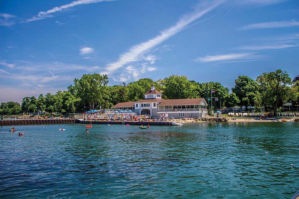 Lakeside Chautauqua waterfront