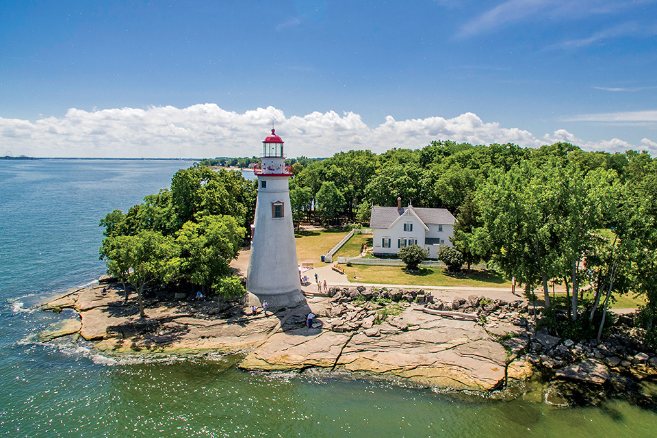 Marblehead Lighthouse (photo by Aerial Agents)