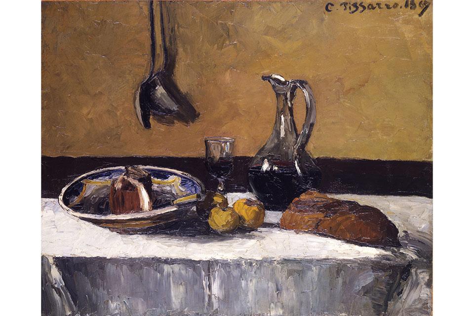 "Camille Pissarro's ""Still Life"" (artwork courtesy of Toledo Museum of Art)"