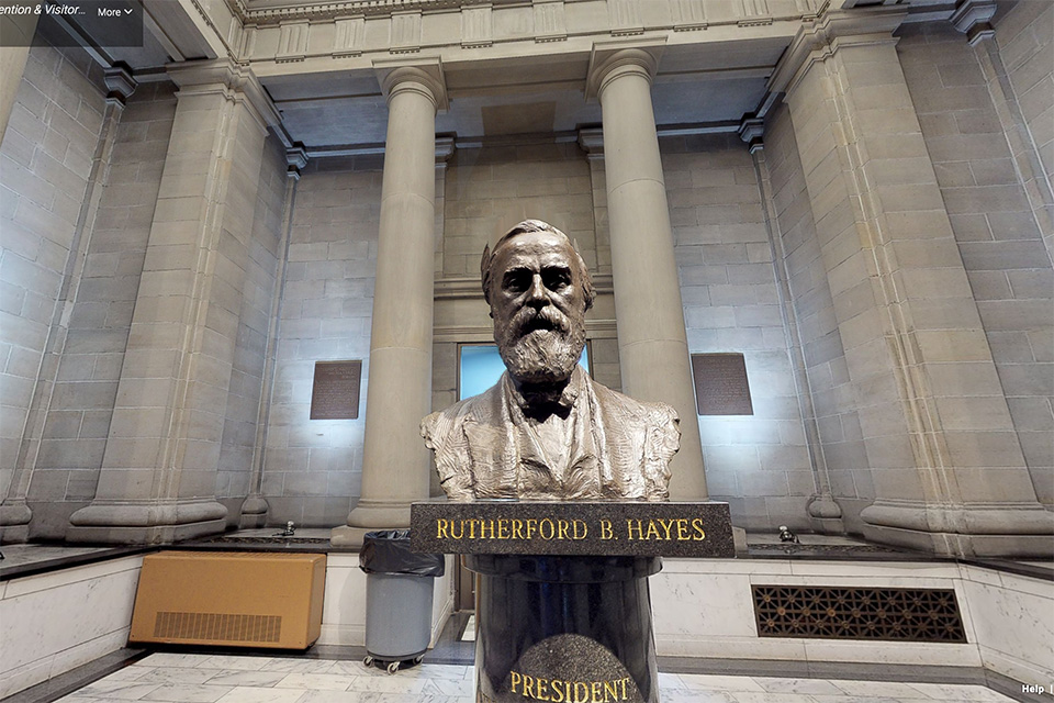 Rutherford B. Hayes Presidential Library & Museums 3D Experience