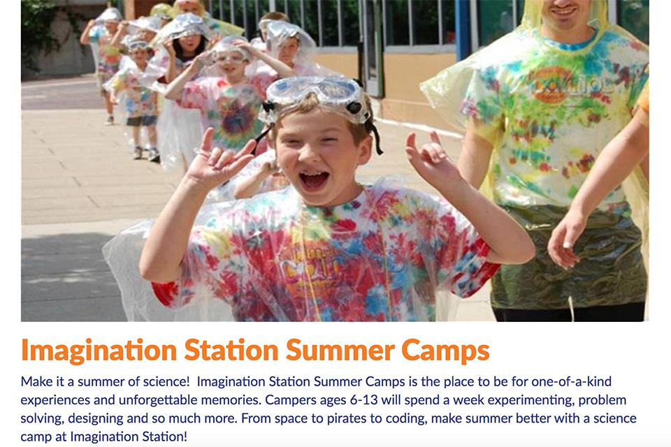 Imagination Station Summer Camps
