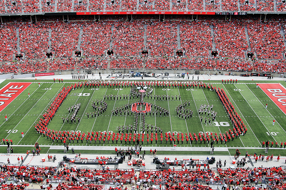 "Ohio State's band performs ""Hang On, Sloopy"""