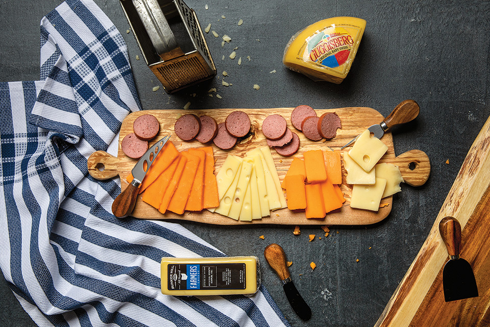 Amish cheese and meats (photo by Karin McKenna)