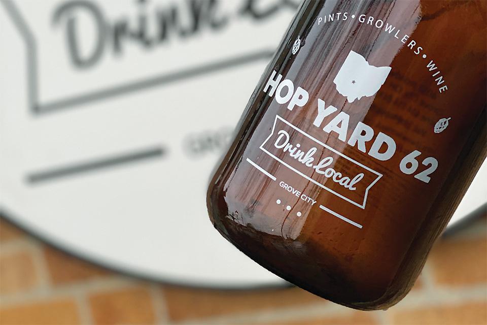 Hop Yard 62 beer (photo by Greg Solt)