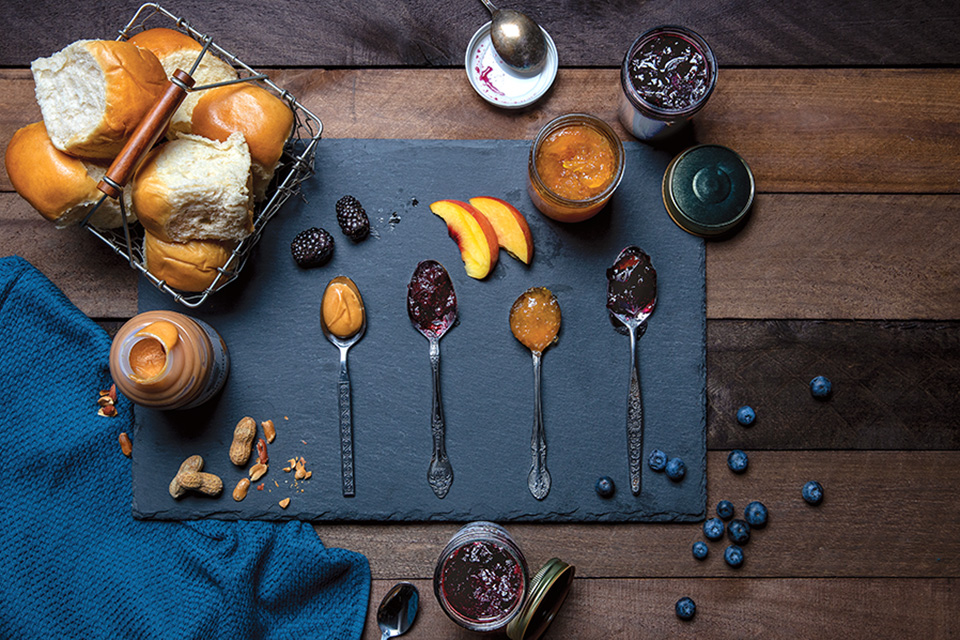 Amish jams and spreads (photo by Karin McKenna)