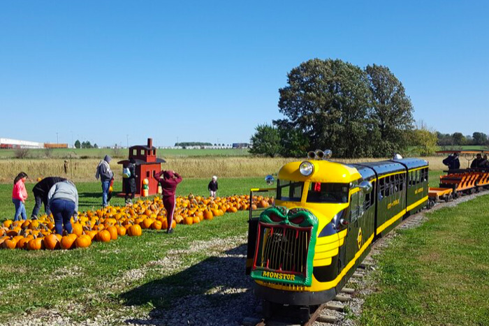 Northwest Ohio Railroad Preservation's Pumpkin Train