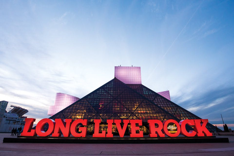Rock and Roll Hall of Fame (photo by Hunt + Capture)