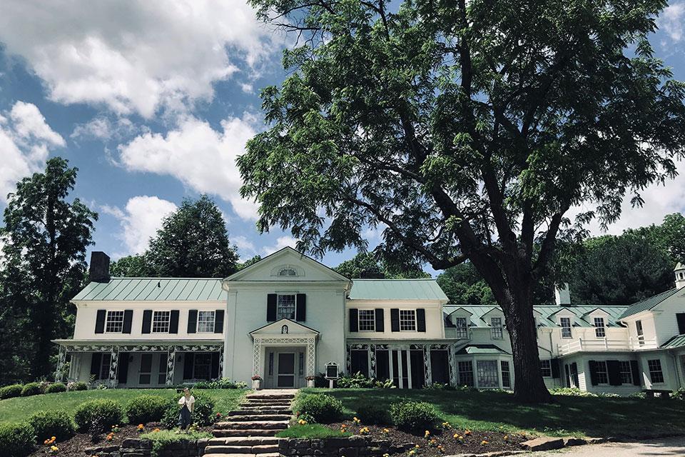 The Big House at Malabar Farm (photo by Lindsey Burnett)