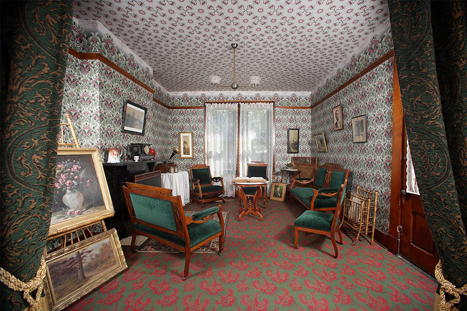 Paul Laurence Dunbar House Historic Site (photo courtesy of Ohio History Connection)
