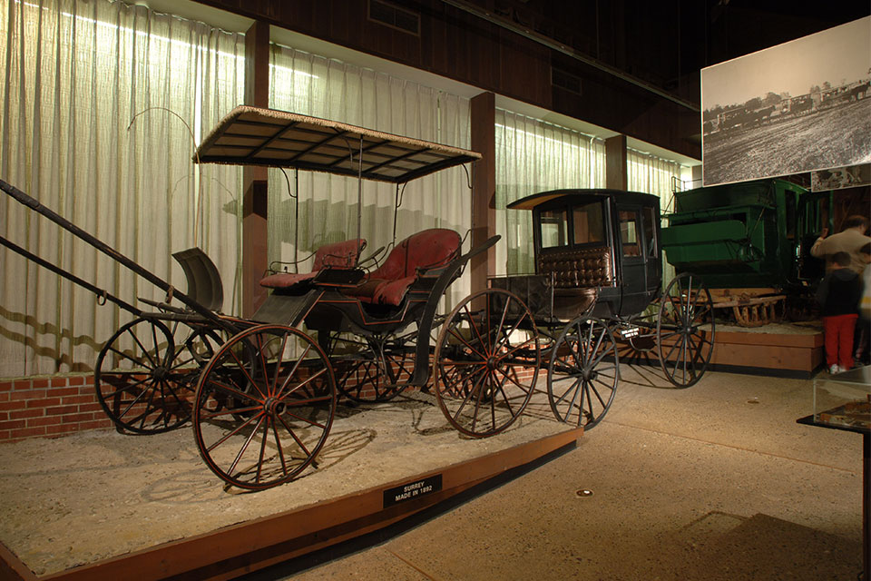The National Road & Zane Grey Museum (photo courtesy of Ohio History Connection)