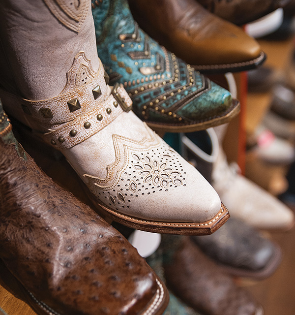 Schafer Leather Store boots (photo by Michelle Waters)