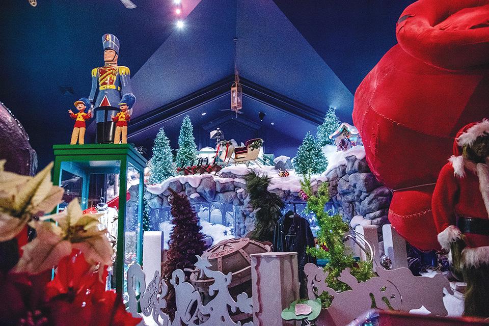 Castle Noel display (photo by Rachael Jirousek)