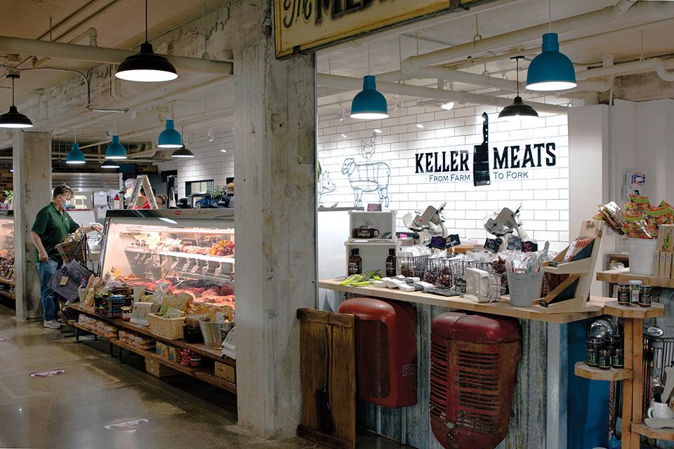Farmer's Exchange Keller Meats counter (photo by Rachael Jirousek)