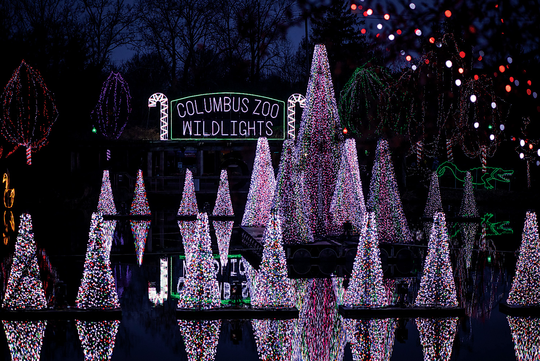 Columbus Zoo Wildlights (photo by Grahm S. Jones)