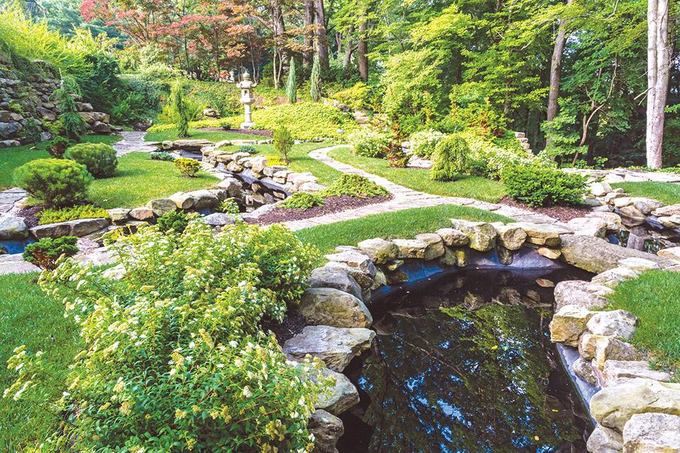 Stan Hywet Hall & Gardens Japanese Garden (photo courtesy of Stan Hywet Hall & Gardens)
