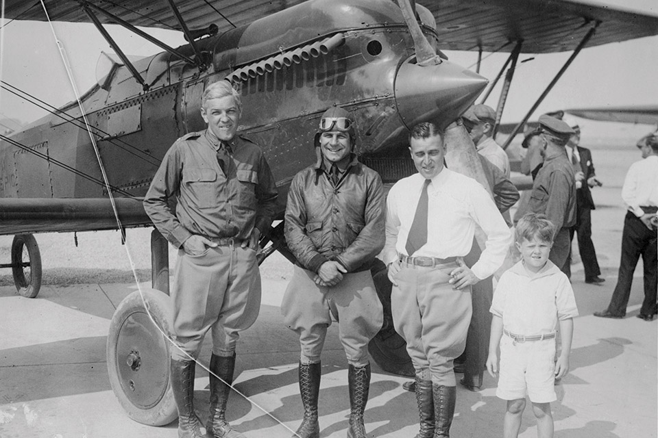 Jimmy Doolittle at the 1929 air races
