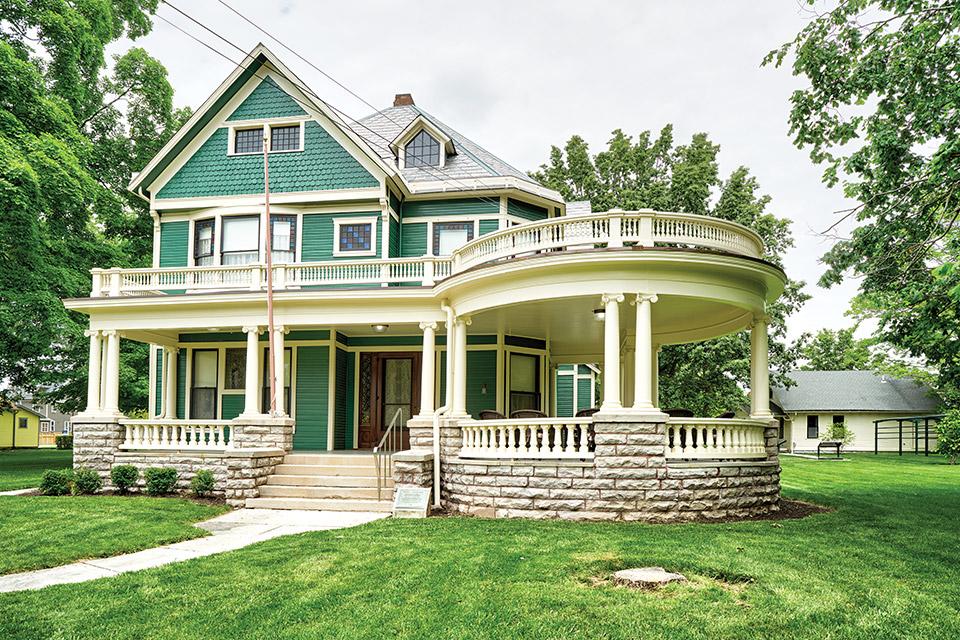 Harding Home exterior