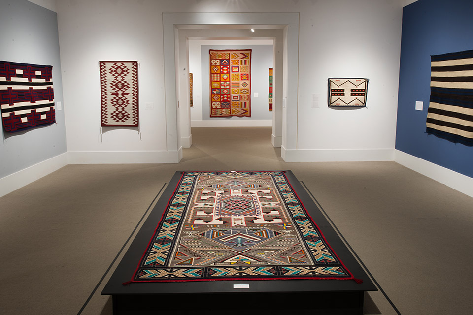 Kennedy Museum of Art interior (photo by Stephanie Park)
