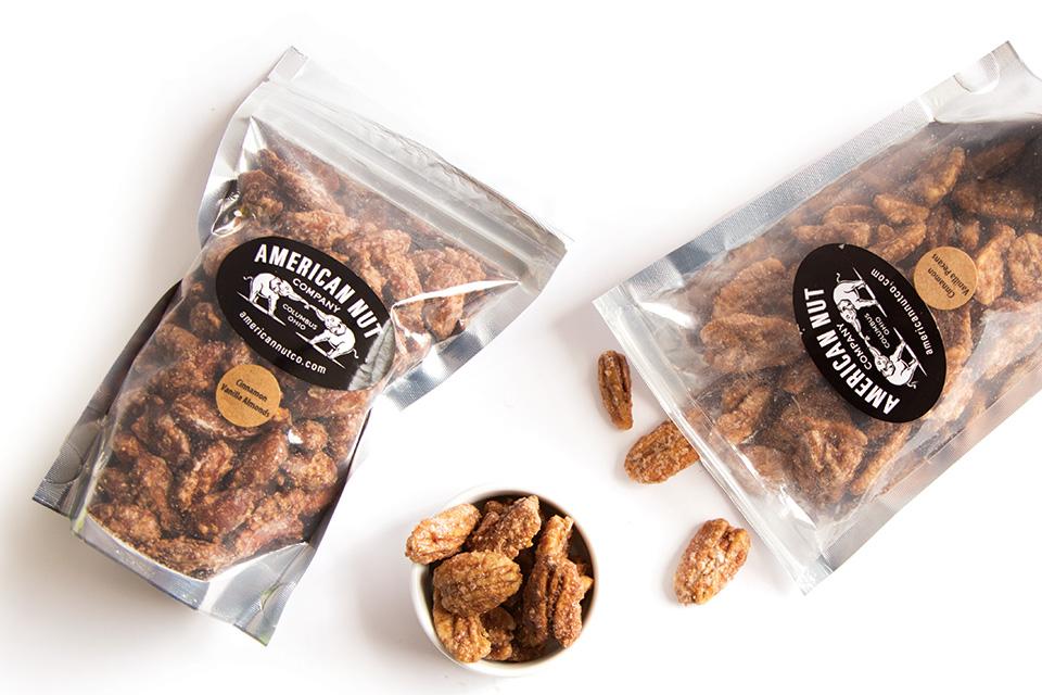 American Nut Company cinnamon vanilla almonds (photo by Rachael Jirousek)