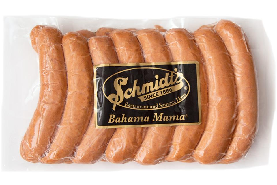 Schmidt's Bahama Mama sausage (photo by Rachael Jirousek)