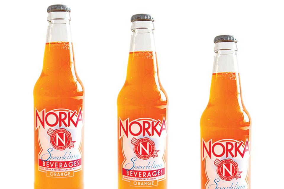 Norka orange soda (photo by Rachael Jirousek)