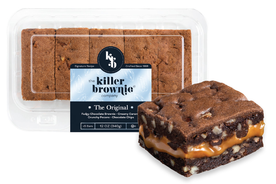 The Killer Brownie Co. killer brownie (photo courtesy of Killer Brownie Co.)