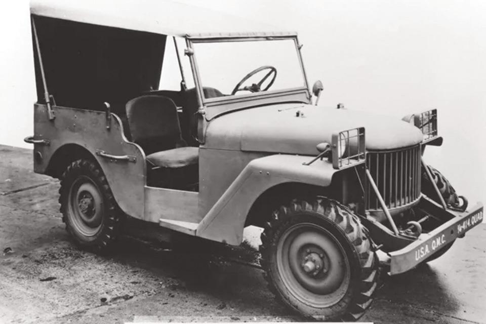 Willys prototype vehicle