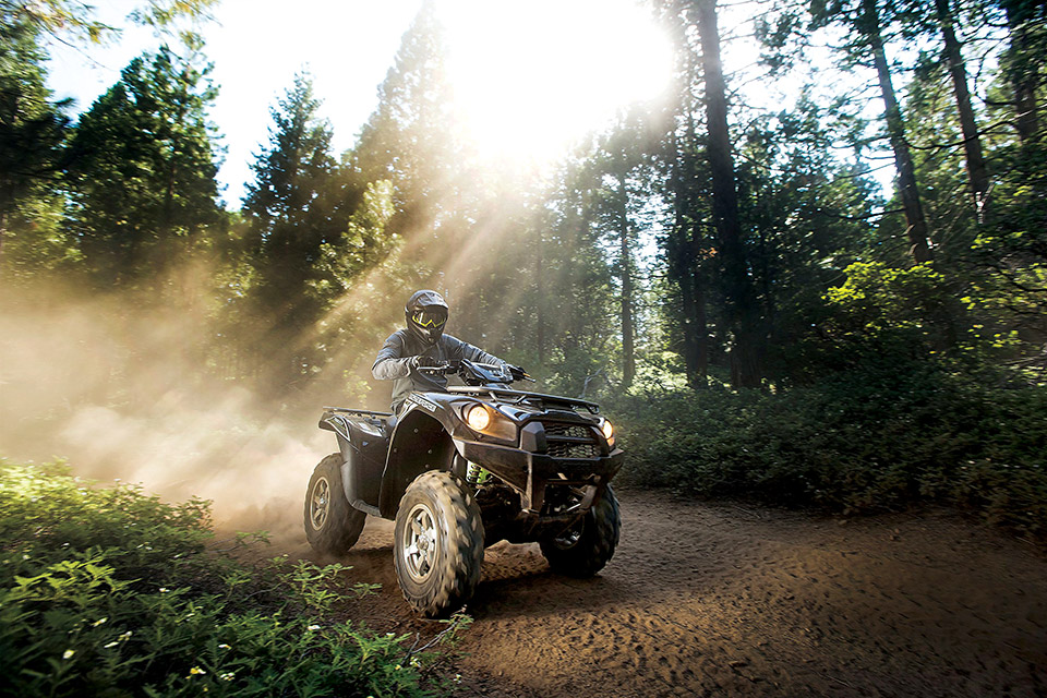 ATV on Hatfield-McCoy Trails (courtesy of Hatfield-McCoy Trails)