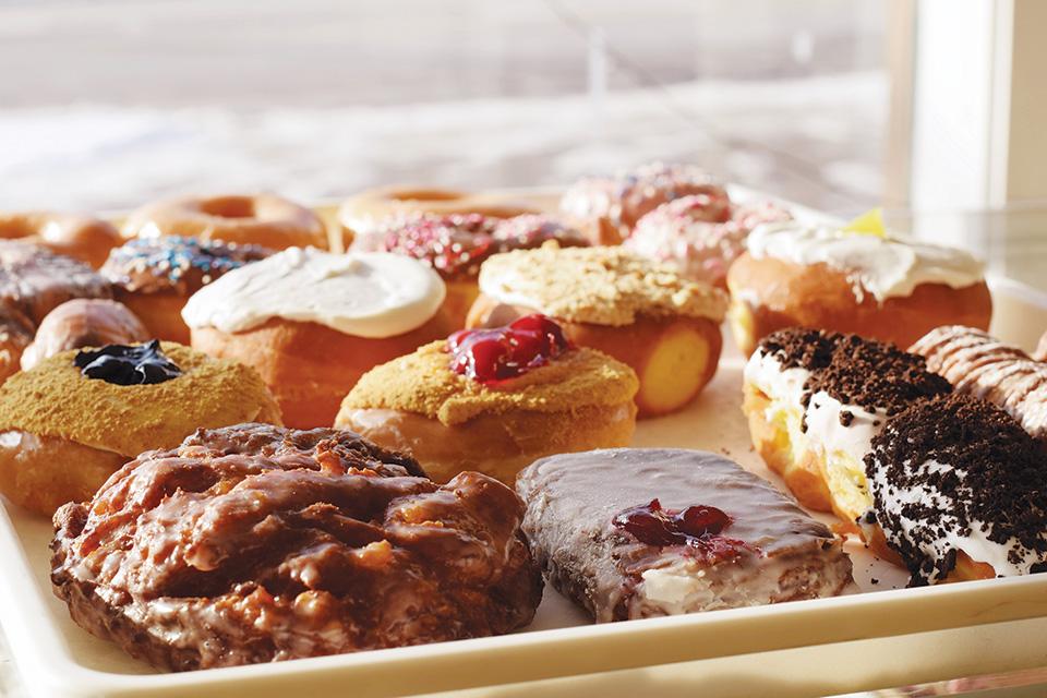 Doughnuts at Martin's Donut Shop (photo courtesy of Butler County Visitors Bureau)