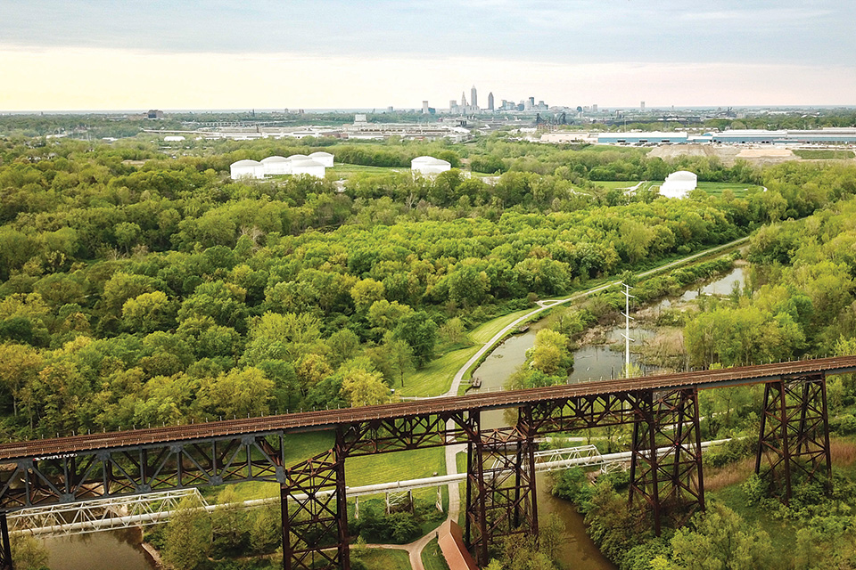 Ohio & Erie Canal Towpath Trail (photo by Brett Fisher)
