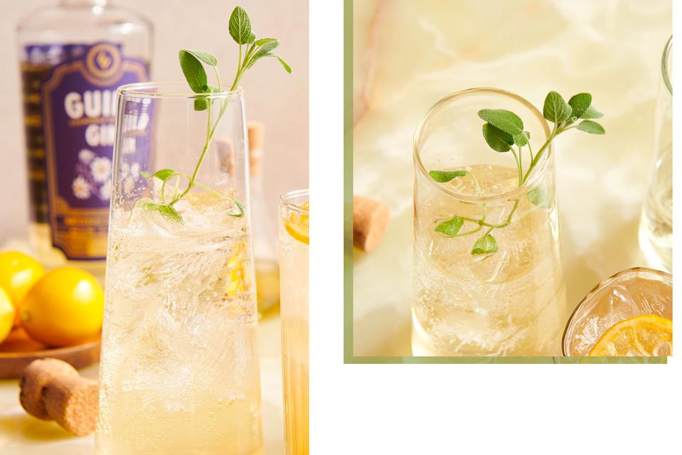 Sage Advice cocktail (photo by Megann Galehouse, styling by Betty Karslake)