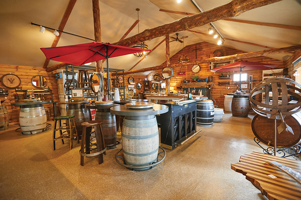 The Oak Barrel Company interior (photo by Eric Wagner)