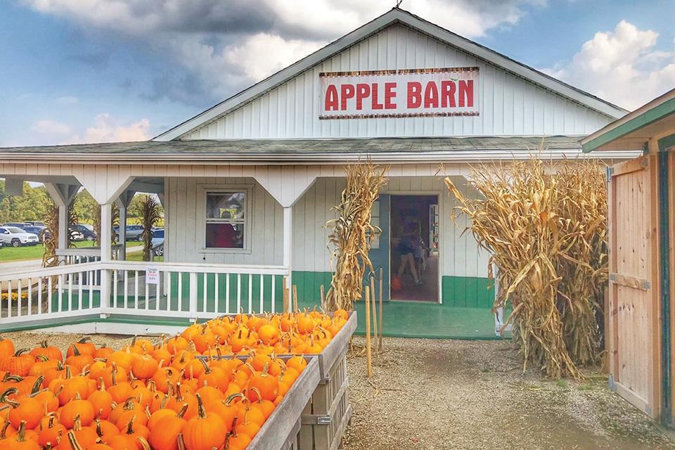 Patterson Fruit Farm apple barn (photo courtesy of Patterson Fruit Farm)