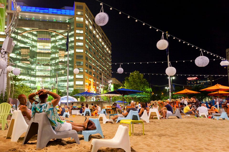 Campus-Maritus-Beach-at-Night-photo-Bill-Bowen