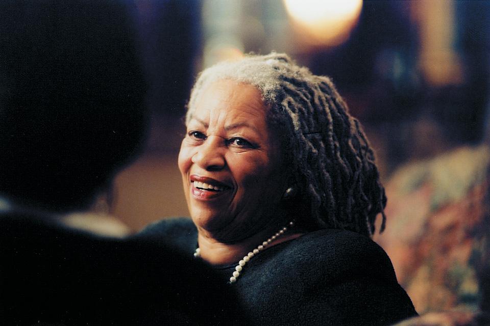 Toni Morrison (photo by Jerry Mann)