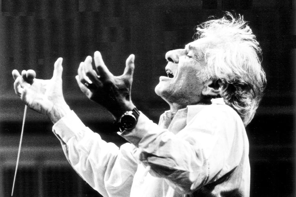 Leonard Bernstein exhibit at Maltz Museum