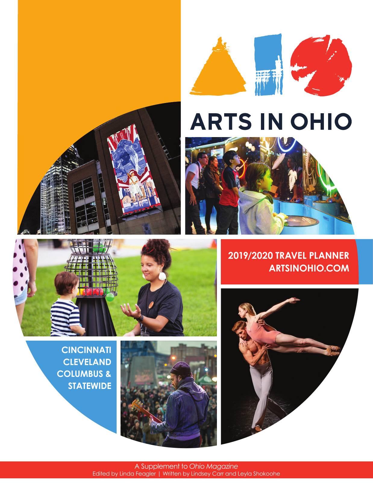 Arts In Ohio Guide cover